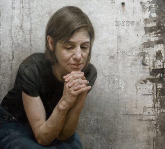 amazing woman wall painting