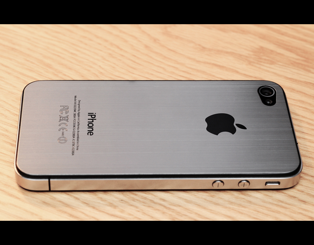 iphone 5 silver back