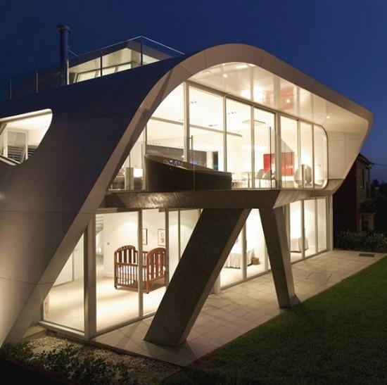 Futuristic Home Design Ideas: Future-home-designs-australia-architecture-9