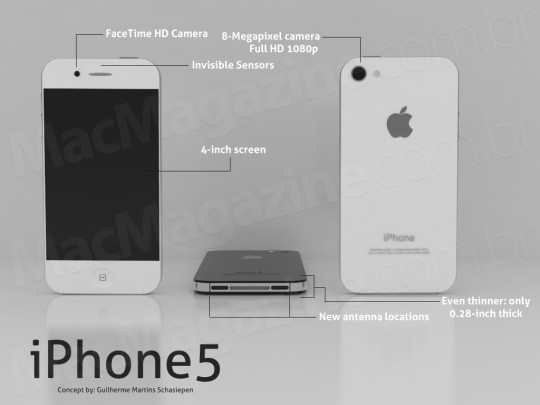 iphone 5 expected
