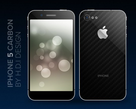 iphone 5 carbon