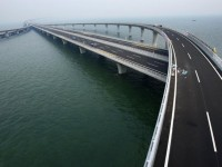 Stunning Pictures of Record Breaking Sea Bridge in China