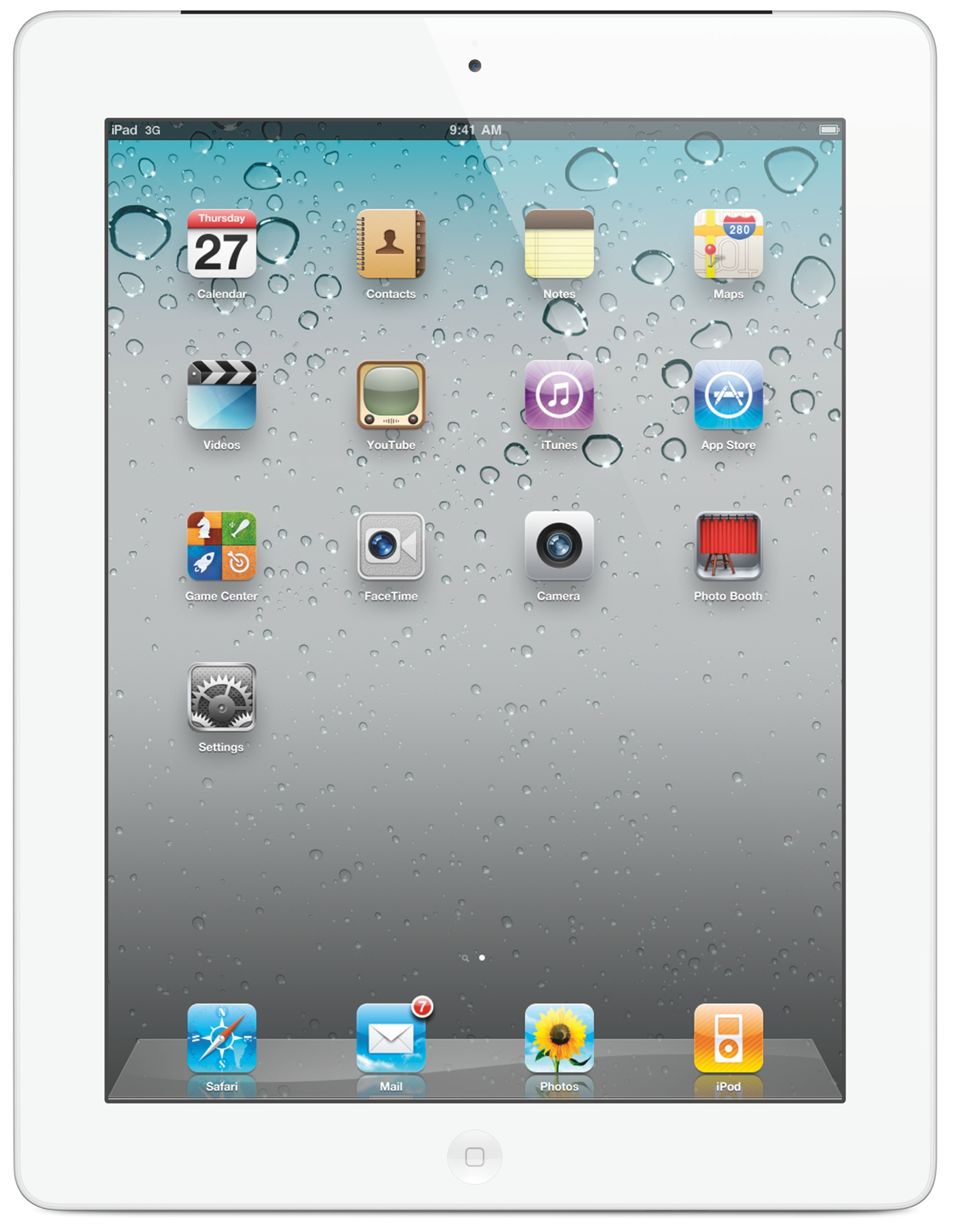 Apple iPad Mini Wi-Fi 16GB, White, MD531FD_A - amazon.de