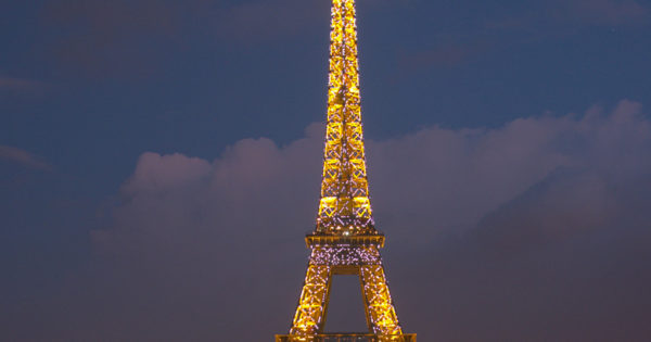 String Lights Eiffel Tower : Eiffel-Tower-Night-lights - 2748 - The Wondrous Pics