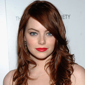 EMMA STONE Gorgeous Hairstyle | Wondrous Pics