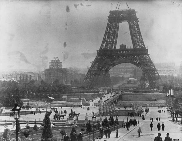 Eiffel Tower 1878