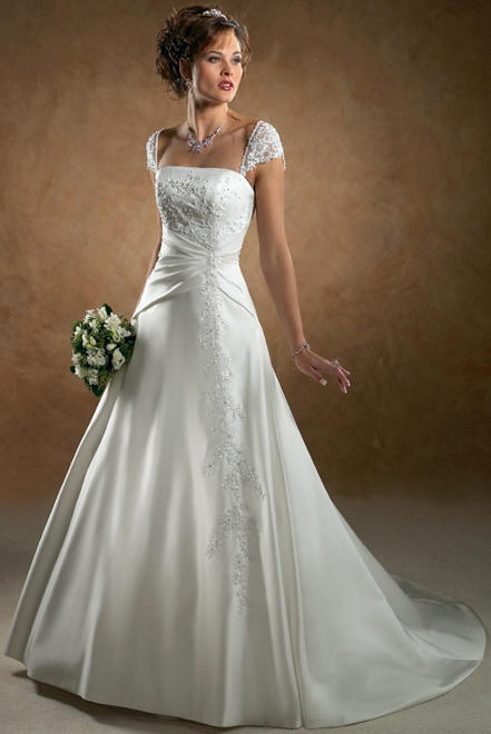 Beautiful wedding dresses white wedding gown wedding dress for A pretty wedding dress
