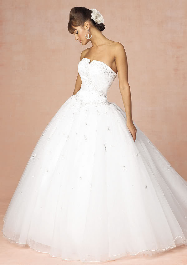 The White Wedding Dress presents bride the most romantic and glamorous ...