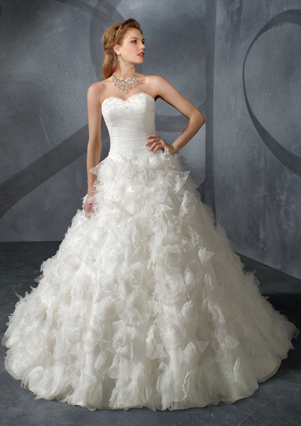 Wedding dress is the garment of choice for brides across countries and