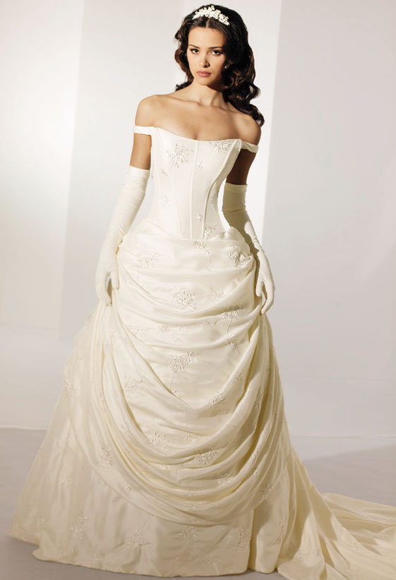 Celtic wedding dresses present a testament of passion and