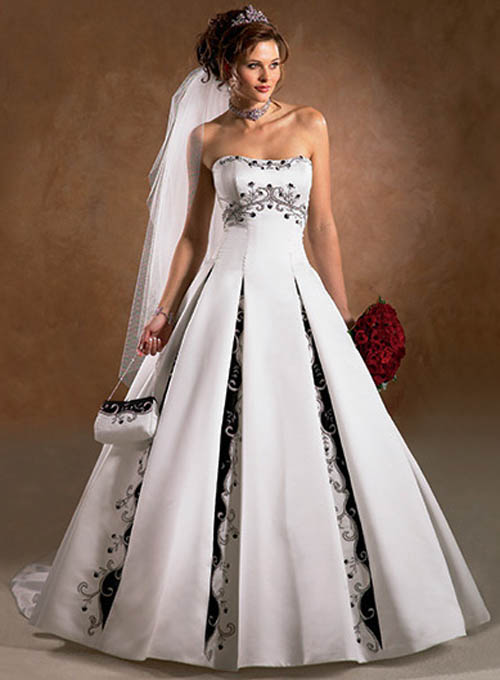 wedding dresses in color