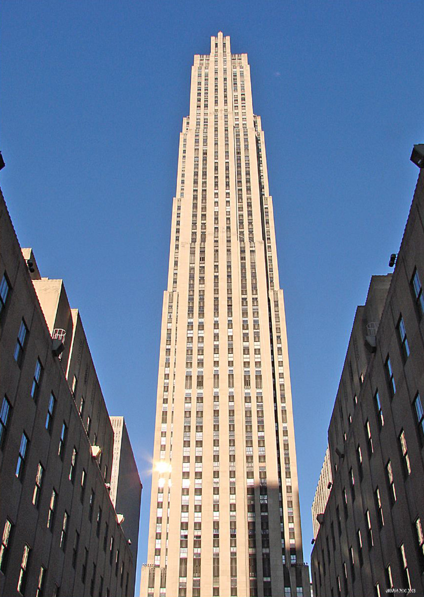 Rockefeller Center Top Of The Rock Magic Photos