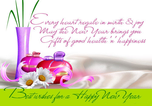new year 2012 greetings and wishes