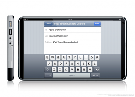 iPad 3 keyboard