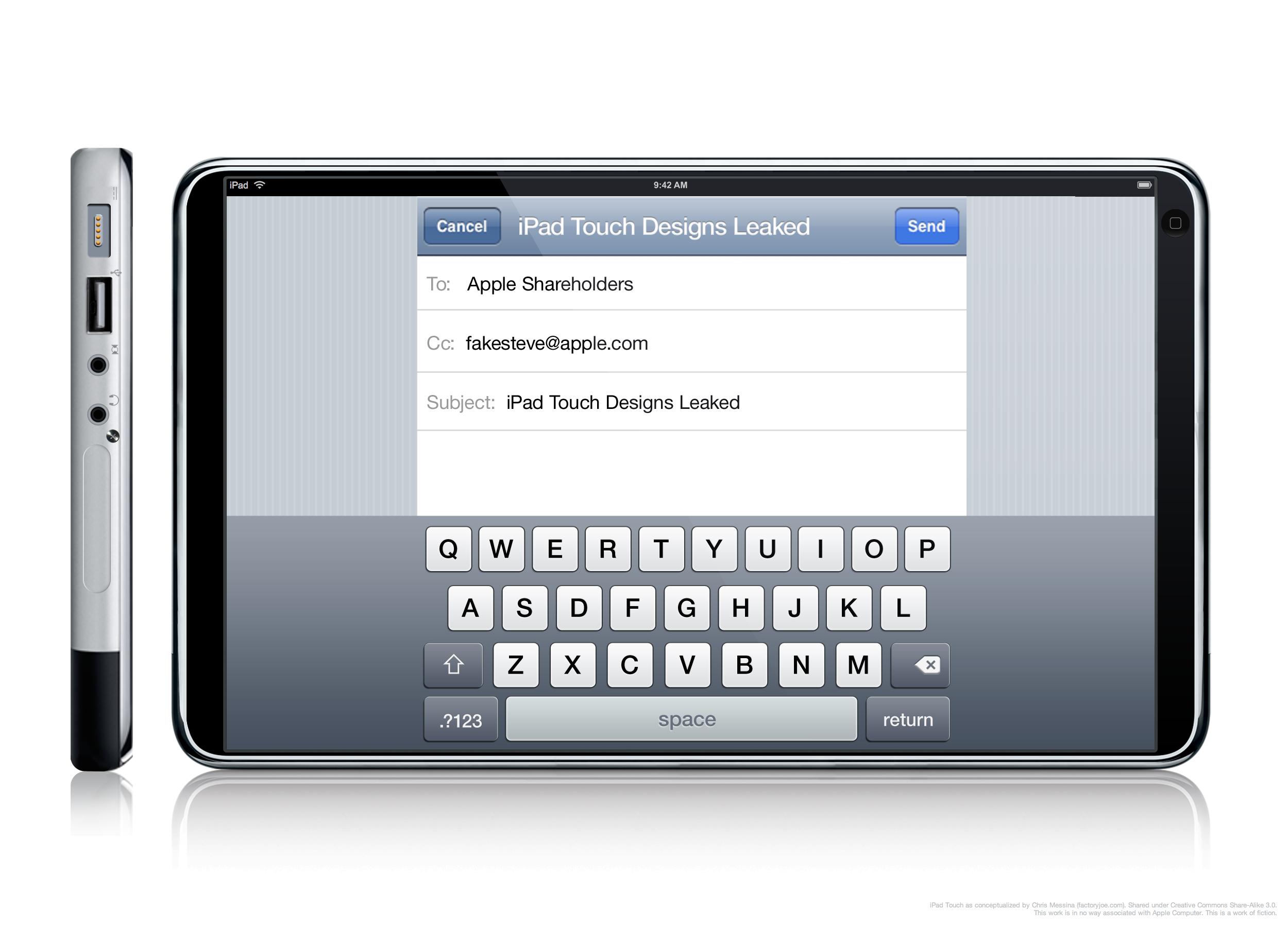 iPad 3 keyboard