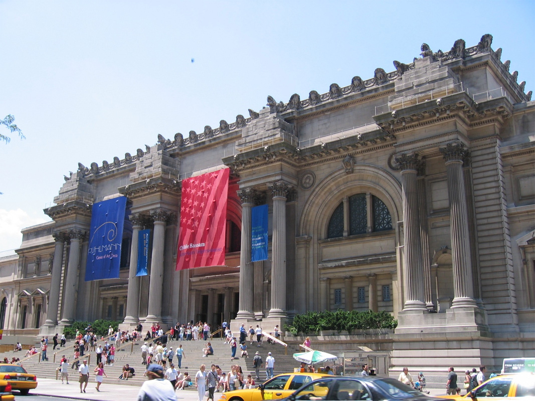 New york city of opportunities the wondrous pics for Metropolitan mueseum of art