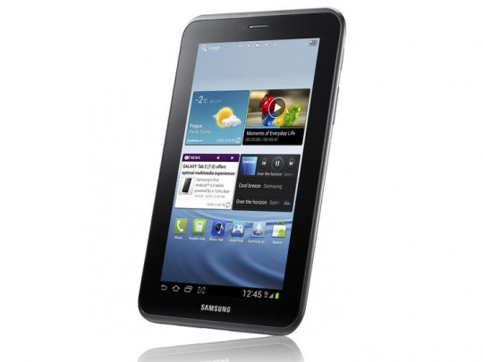 Samsung Galaxy Tab 2 with Android 4.0