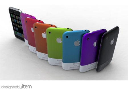 Colored iPhone 5