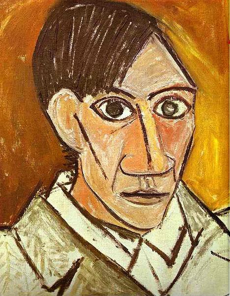 Pablo Picasso Self Portrait 1972