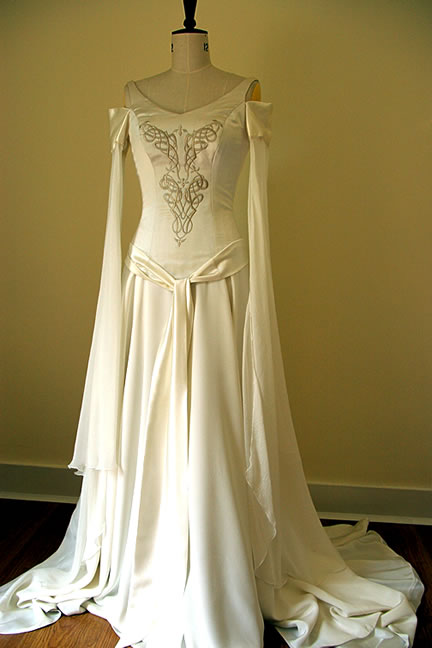 Modern Irish Wedding Dresses : Celtic wedding dresses