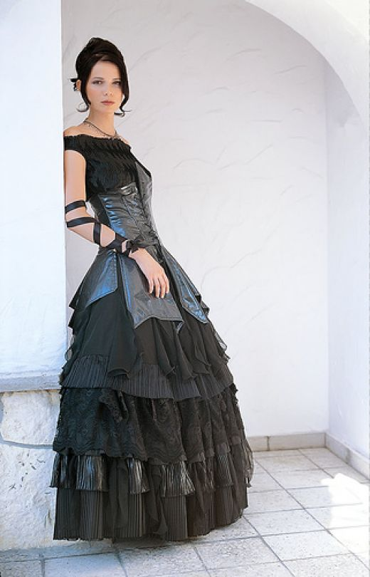 Welcome new post has been published on for Gothic style wedding dresses