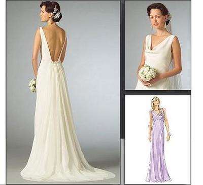 Backless wedding dresses vera wang bridal wears 4748 for Backless wedding dresses vera wang