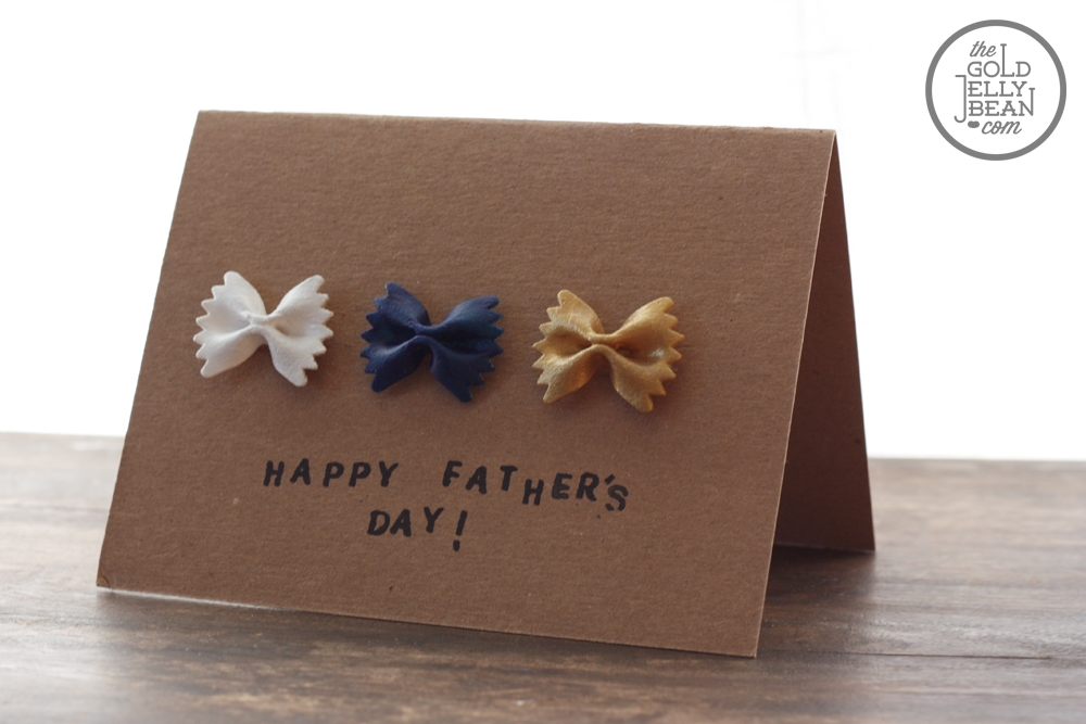 ideas for making father's day cards