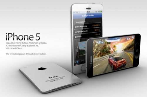 iPhone 5 may launch on September 12