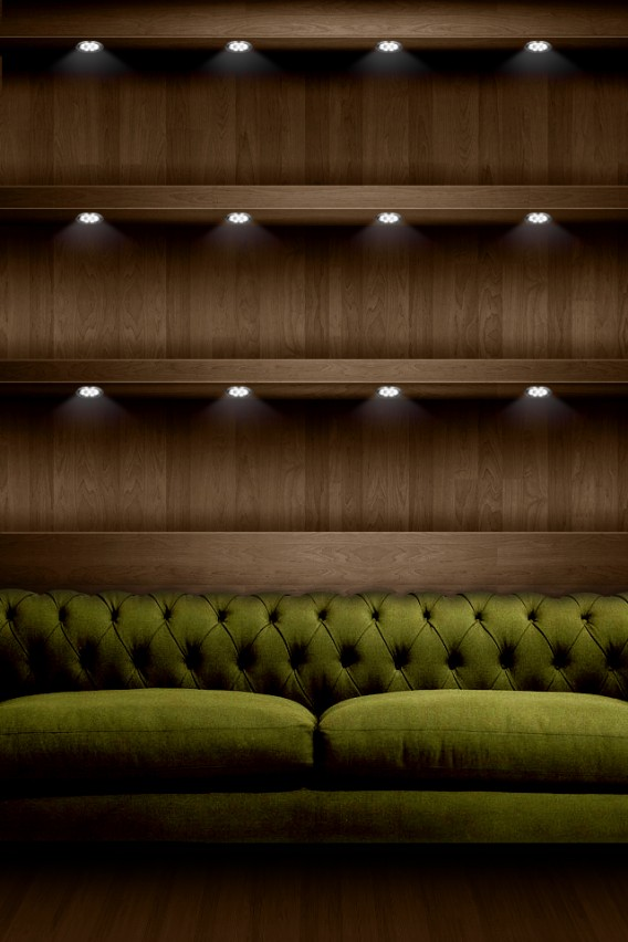 iPhone Couch Retina Wallpaper