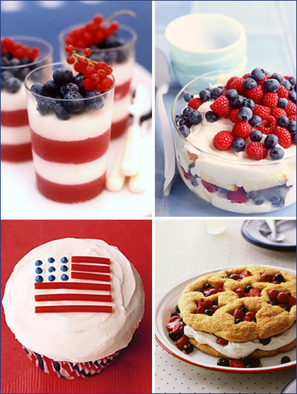 July 4th Cupcakes – Ideas