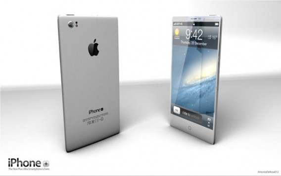 White conceptual iPhone 5
