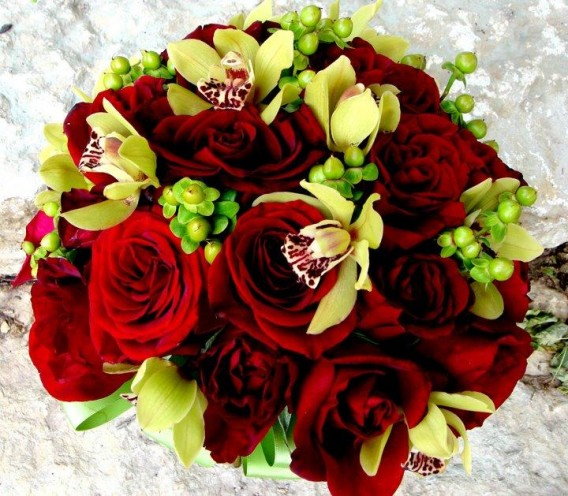 Beautiful rose flower bouquet