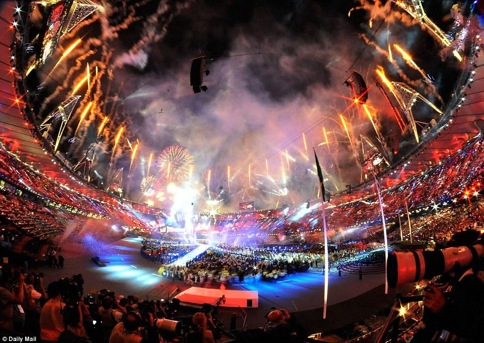 Closing Ceremony - Take That - London Olympic Games - video dailymotion