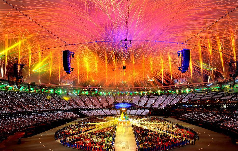 Olympics 2012 – Closing Ceremony Fireworks