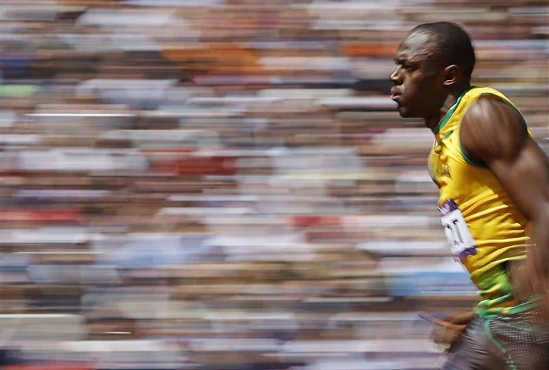 Usain Bolt Won Gold Medal (100m) in London Olympics 2012