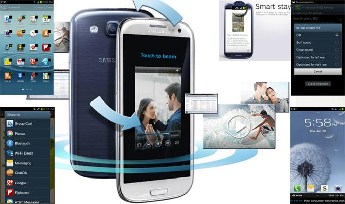 Samsung GALAXY S III (s3) – Pictures