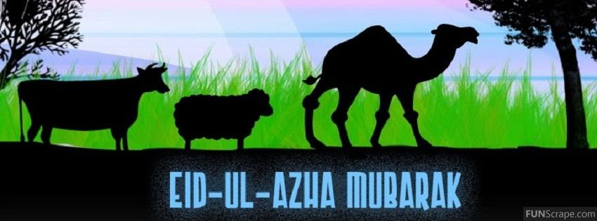 Eid al-Adha Mubarak Facebook Cover Images