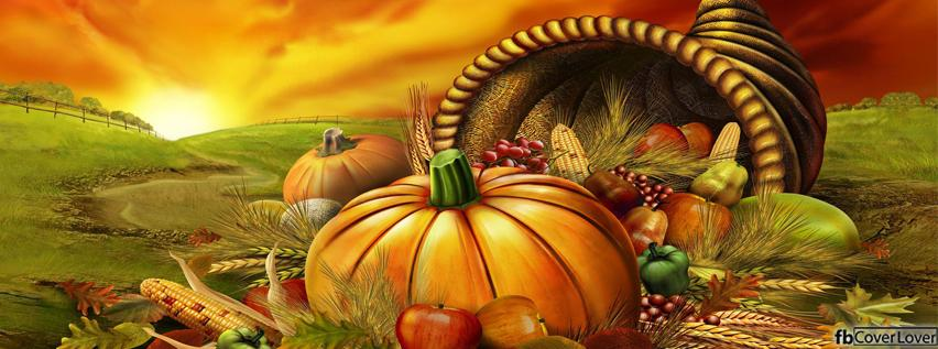Thanksgiving decorations fb facebook profile timeline Happy thanksgiving decorations