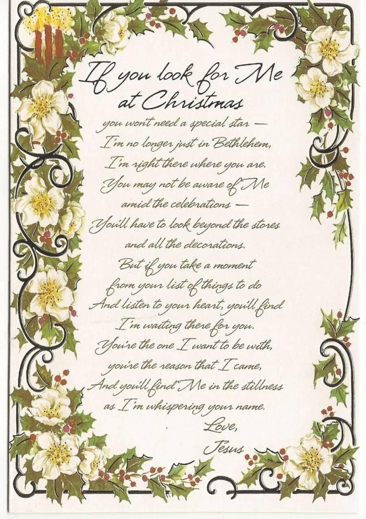 Christmas Poem  7545  The Wondrous Pics