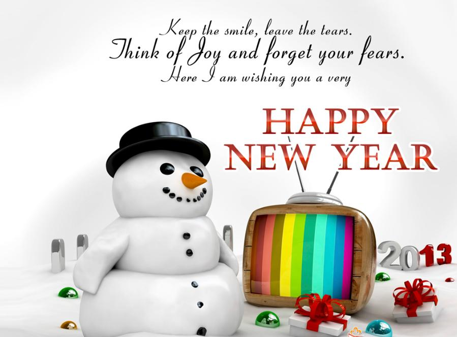 Merry Christmas & Happy New Year 2013 3