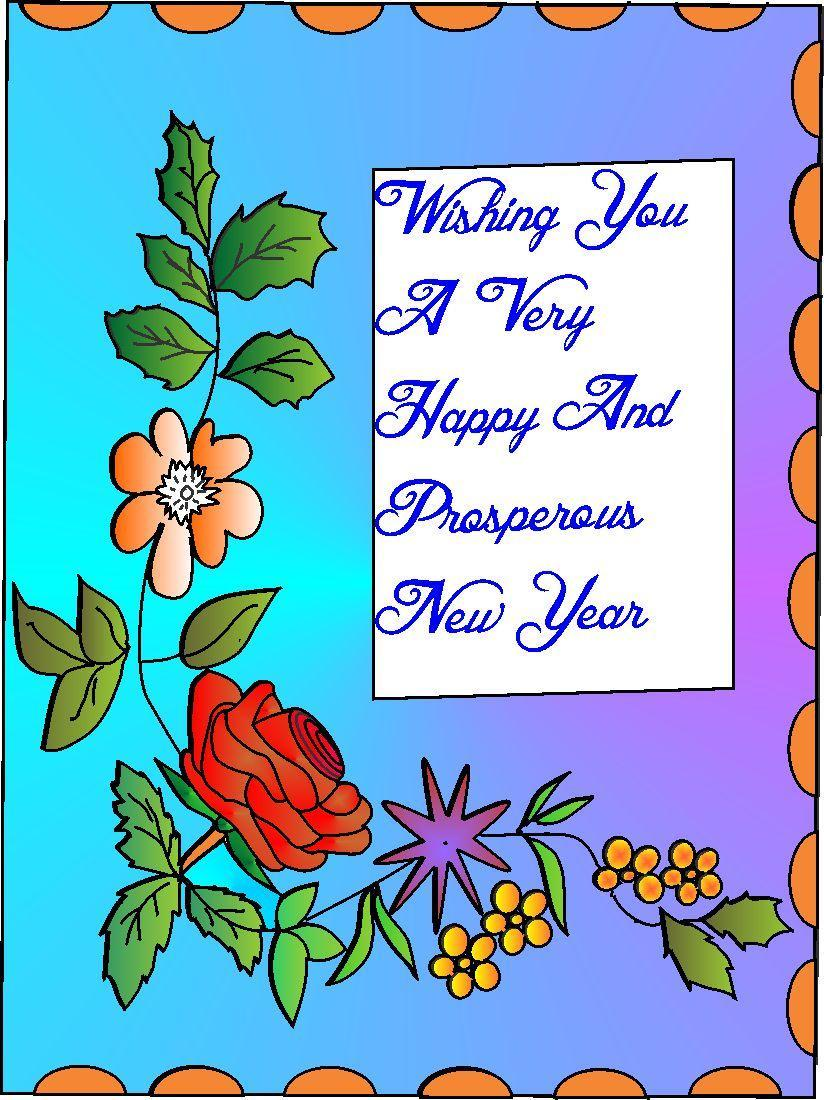 New-Year-Greeting-Card-2013 (4) - 7762 - The Wondrous Pics