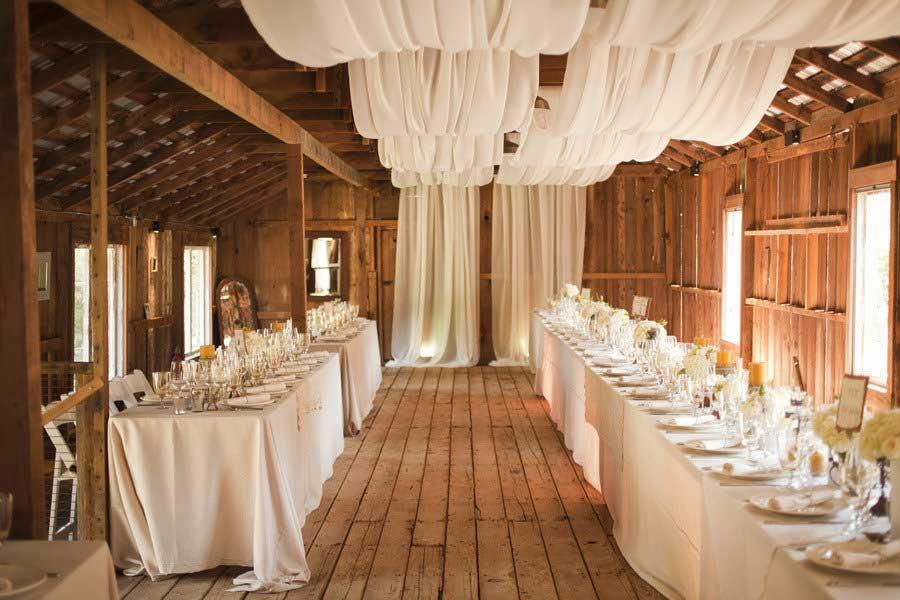 Wedding venue decor romantic decoration for Wedding venue decoration ideas pictures