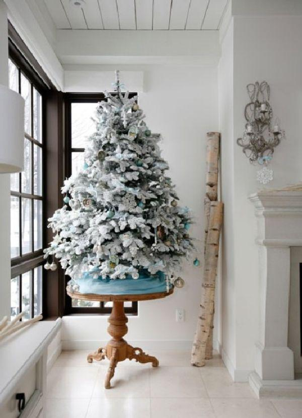 Decorating Ideas > SmallWhiteChristmasTreeDecoratingIdeas  7438  The  ~ 072304_Christmas Decoration Ideas White