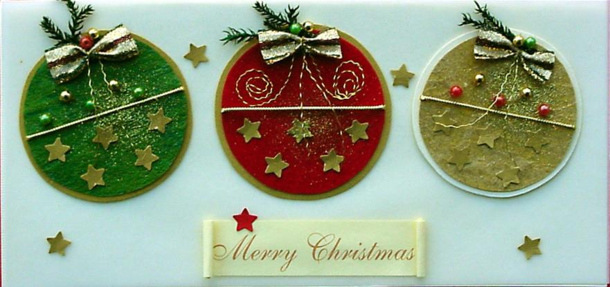 Handmade Christmas Cards Pictures