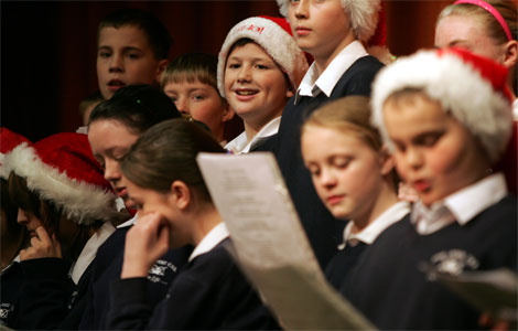 the reason for christmas carols for children