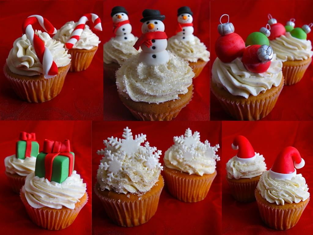 Christmas Cupcake Decorations : Most Creative Christmas Cupcakes - The Wondrous Pics