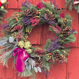 christmas-wreath-craft-decorate-aroma-dried-plants-fb - 7572 - The ...