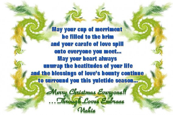 Merry christmas poems the wondrous pics