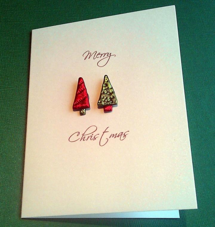 Handmade Christmas Card 7479 The Wondrous Pics