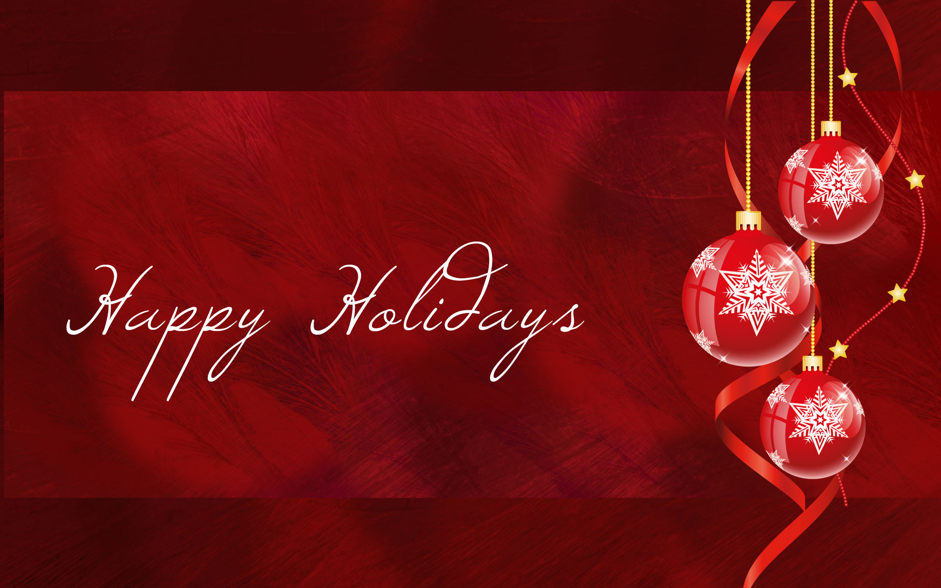 Happy Holidays – Wallpapers